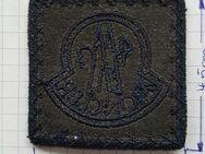 Moncler Patch Aufnäher Abzeichen Logo Mütze Jacke Button eckig - Nienburg (Weser)
