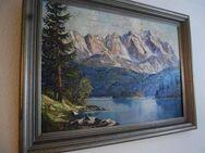 Schönes Ölgemälde auf Leinwand / Gemälde im Holzrahmen - Landschaftbild - Zeuthen