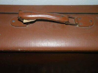 Alter Koffer / Reisekoffer - P8 - Zeuthen