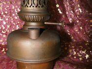 Petroleumlampe L & B Brevete / Messing um 1900 / Belgien / Restaurationsobjekt - Zeuthen