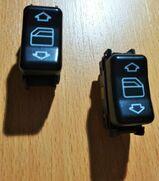 2 x MB Schalter elektrische Fensterheber vorne A140 821 2951