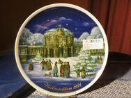 Royal Tettau Porzellan Sammelteller Weihnachten 1991 / Limitierte Auflage Teller - Zeuthen