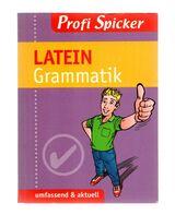 Latein Grammatik  Profi Spicker (Abitur)
