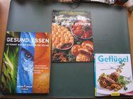 Kochbücher über gesundes Essen und leckere Geflügelrezepte - Braunschweig