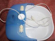 elektronische Massage-Sprudel-Fussbadwanne von Privileg; viele Funktionen - Bad Belzig