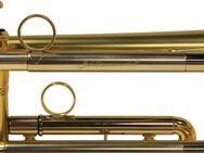 K & H Malte Burba Jubiläums - Trompete mit massiv Sterlingsilber - Mundrohr, NEUWARE mit Case - Hagenburg