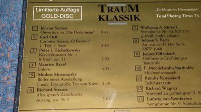CD TRAUM KLASSIK - Berlin Lichtenberg
