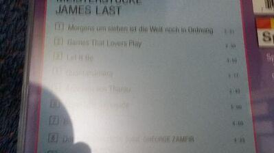 Schallplatte James Last Meisterstücke - Berlin Lichtenberg