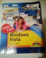 3 Windows Vista Bücher/1x Bild für Bild(2007)/1xVista von Anfang an/Vista Buch