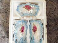 Vasen Set blau und weiß-rosa - Berlin