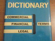DICTIONARY Commercial - Financial - Legal - Terms - ENGLISH-GERMAN (wie neu!) - Groß Gerau