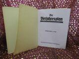 Gebundener Jahrgang 1942 Zeitschrift Der Vierjahresplan / Zeitungen 3. Reich