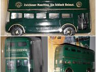 Leyland D9 Modell Oldtimer Doppelstockbus Mauritius Brauerei Zwickau - Nürnberg
