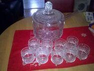 VB 30€ - Bowlengefäß -  mit 9 Gläsern - Bottrop
