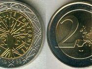 2 Euro,Frankreich 1999,Kursmünze Lot 193