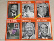DER SPIEGEL 1960 1961 1962 1963 Einzelverkauf - Coesfeld