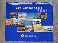 ART Automobile Kalender 2001 Designer & Rarität 12.Designer Bilder/Fotos **Anschauen** 54/46cm - Köln