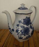 Kaffeekanne Adams Blue Butterfly Keramik