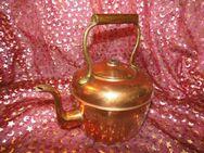 Antiker, großer Wasserkessel aus Kupfer um 1850- 1870 / Teekessel, ca. 2,5 Liter - Zeuthen
