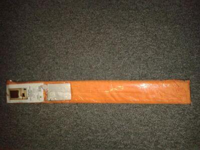 Raffrollo orange. ca. 80x1.60 - Kassel Brasselsberg