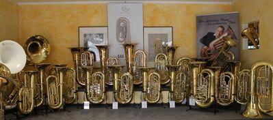 Melton Fafner Tuba in BBb, Mod. 195 - L aus dem Hause Meinl Weston. Profiklasse. Neuware - Hagenburg