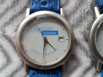 Armbanduhren mit Echt Leder Armband und Werbung. Preis pro Stück! - Kassel Brasselsberg