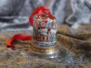 Hutschenreuther Weihnachtsglocke / Vintage / Kristall Glas Glocke - Zeuthen