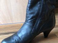 Stiefelletten von Gabor Gr . 39 neuwertig Leder Schwarz - Baunatal Zentrum