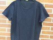 Shirt, leicht transparent, schwarz,Größe: 40/42