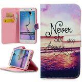Handy Lux Schutz Hülle Tasche Kartenfächer Flip Case Etui Cover