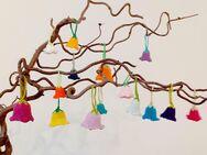 Glockenblumen, gestrickt, Anhänger, Eierwärmer, Handarbeit - Koblenz