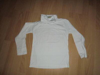 Langarmshirt mit Rollkragen für Mädchen zu verkaufen *Größe 110* - Walsrode