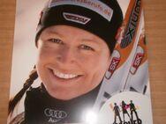 Katrin Zeller Autogrammkarte mit Druckunterschrift (D) Skilanglauf - Weichs