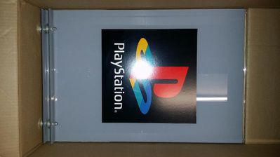 (2) Sony CEE Playstation Original Sales Stand Playstation Logo Sony Playstation MERCHANDISE - München Altstadt-Lehel