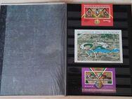 16seitiges Briefmarkenalbum mit internationalen Sportmarken - Bamberg