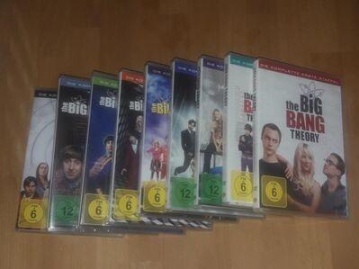 verkaufe The Big Bang Theory Staffel 1 - 9 - Rodgau Zentrum