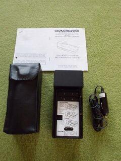 Akku-Lader / Mehrzweck Batterieladegerät / Camcharger 12 V, mit Tasche und Bedienungsanweisung - Ehra-Lessien