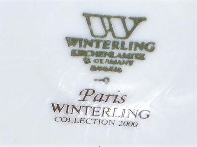 WINTERLING Kirchenlamitz, Modell Paris Collection 2000, Kaffeekanne, Neuwertig - Lüdenscheid