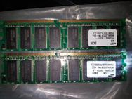 (2) Samsung KR 0439 PC3200U - 30331 - Z M368L3223FTN - CCC 256MB DDR PC3200 CL3 RAM DDR1 single-sided PCNBUG