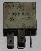 BMW Bosch Ablendlicht Relais 13608773   1977 Steuergerät Elektrik  Oldtimer