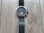 Herren Armbanduhr U-BOAT Silber/Schwarz Chronograph Automatik **Top** Anschauen - Köln