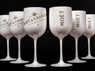 Moet Cup CHANDON Acryl Becher Champagnerglas Glas Kelche Gläser - Nienburg (Weser)