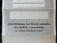 Feldpostbrief, ungelaufen, Einheits Sparbrief - Niederfischbach