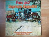 LP Viny Franz List Ungarische Rhapsodien