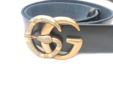 1 x Gürtel Gucci GG Schnalle Ledergürtel Gürtel Unisex Belt - Drakenburg
