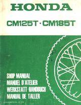 Honda CM 125 und 185 ab 1978 ein Werkstatthandbuch