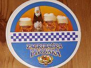 ZAGREBACKA PIVOVARA Zagreber Brauerei 1892 Bierdeckel BD - Nürnberg
