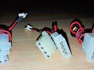 3 x Stück PC Interne Stromkabel mit Molex Lüfter-Kabel 33cm Länge