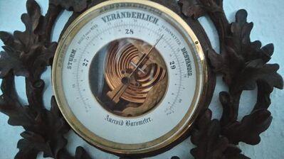 Rarität ! Altes Android Barometer ! - Sandersdorf