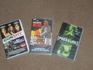 VHS Spielfilme Aktion 1990 2000 Pressure, Metro, GunShy  Original - Bottrop